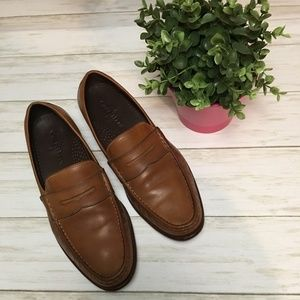 Cole Haan Cognac Penny Loafers - Nike Air Size 10
